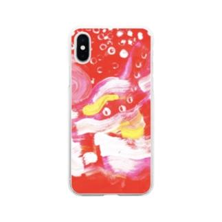もえている Soft clear smartphone cases