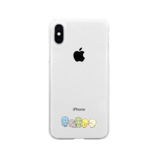 さざなみーず Soft clear smartphone cases