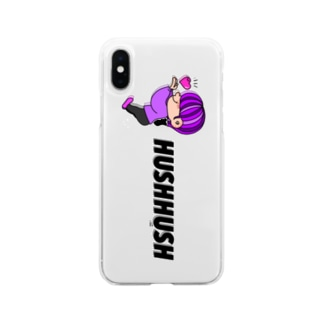 FREE STYLE しょーとへあちゃん。 Soft clear smartphone cases