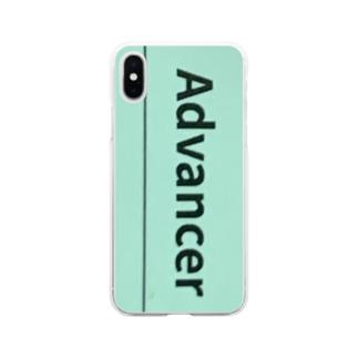 必ず許可をお願いします Soft clear smartphone cases