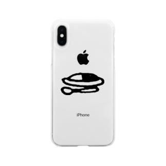 ルカタマカレー (元祖) Soft clear smartphone cases
