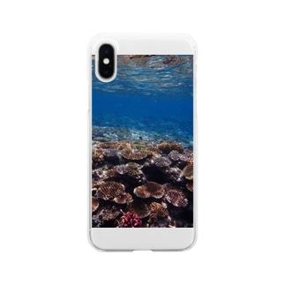 ネイチャーパステル2  西表島 Soft clear smartphone cases