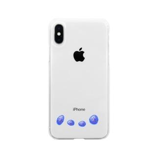 それぞれの青い秘密 Soft clear smartphone cases