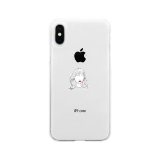 そいんよそん Soft clear smartphone cases