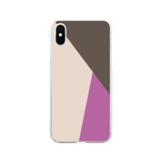 かさなり Soft clear smartphone cases