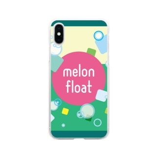 melon float Soft clear smartphone cases