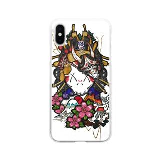 富士kitty Soft clear smartphone cases
