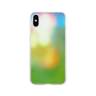 祭りのあと Soft clear smartphone cases