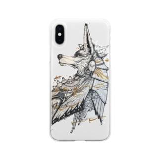 アヌビス Soft clear smartphone cases