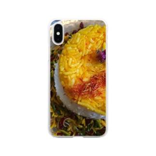 ペルシャ料理(モラサポロ) Soft clear smartphone cases
