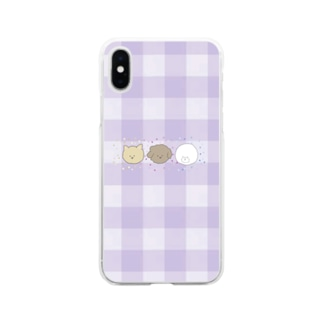 あ Soft clear smartphone cases