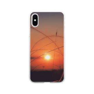 夜明け8 Soft clear smartphone cases