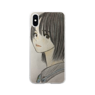 羽音〜Hane〜 Soft clear smartphone cases