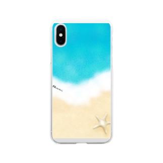 マリンTime Soft clear smartphone cases