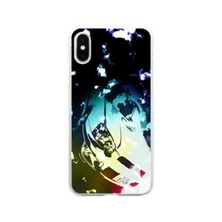 キラキラGGA Soft clear smartphone cases