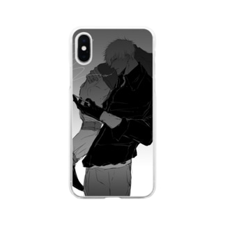 連行 Soft clear smartphone cases