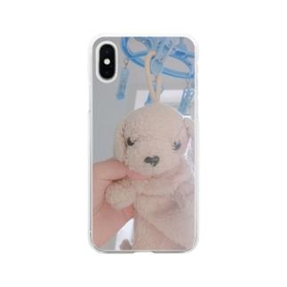 ペンケースのイッヌ Soft clear smartphone cases