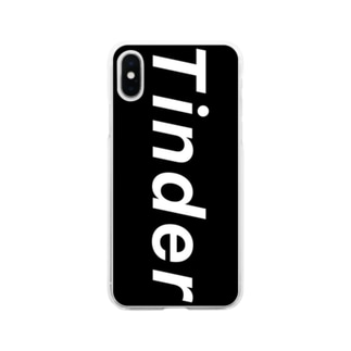 Tinder公式グッズbyじゅんじゅん Soft clear smartphone cases
