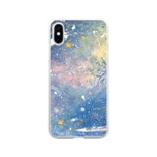 kono hoshi no sora Soft clear smartphone cases