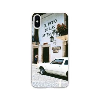 メキシコ:タスコの商店 Mexico: Shops in Taxco Soft clear smartphone cases