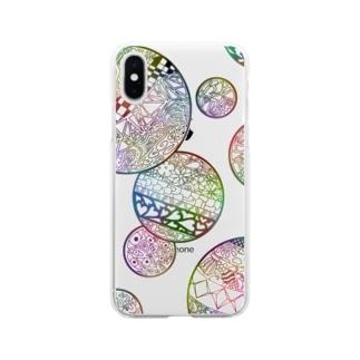 らくがき Soft clear smartphone cases