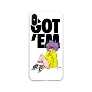 GOTEM Creamy Soft clear smartphone cases