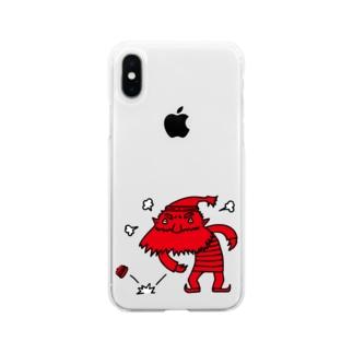 靴屋の小人 Soft clear smartphone cases