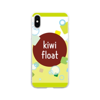 kiwi float Soft clear smartphone cases