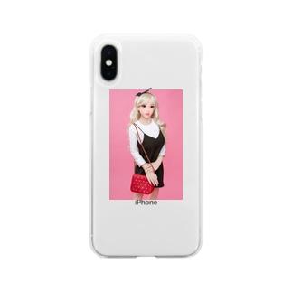 高級リアルドールkaka-doll.com Soft clear smartphone cases