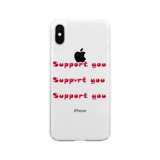 影武者 Soft clear smartphone cases