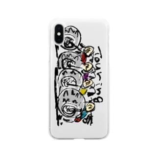 ツーリング Soft clear smartphone cases