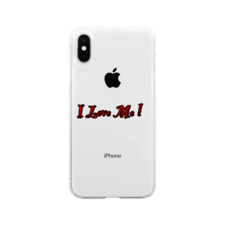 I Love Me! グッズ Soft clear smartphone cases