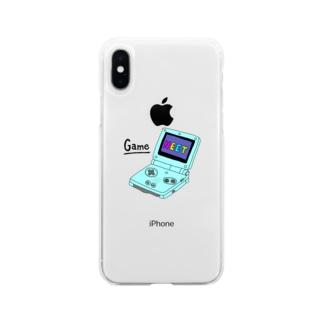 げーむぼーい Soft clear smartphone cases