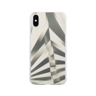 ストライプ Soft clear smartphone cases