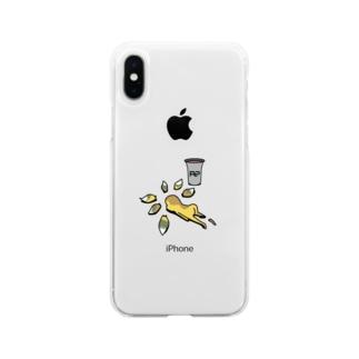 おくされ様 Soft clear smartphone cases