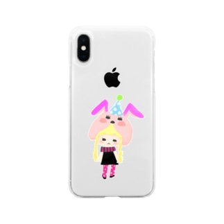 ゆめみちゃん Soft clear smartphone cases