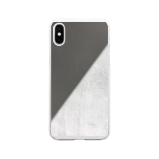 影と光 Soft clear smartphone cases