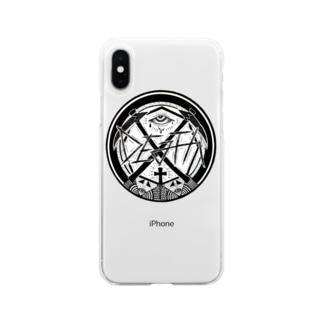 DEATHです Soft clear smartphone cases