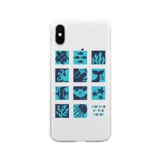 Motion In The Ocean Soft clear smartphone cases