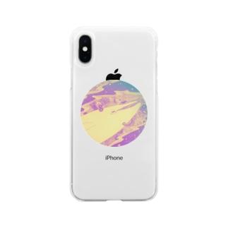 夢 Soft clear smartphone cases
