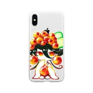 いくらちゃん。 Soft clear smartphone cases