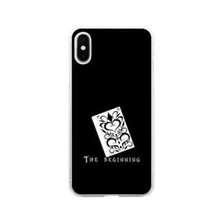 はじまりはじまり モノクロ2 Soft clear smartphone cases