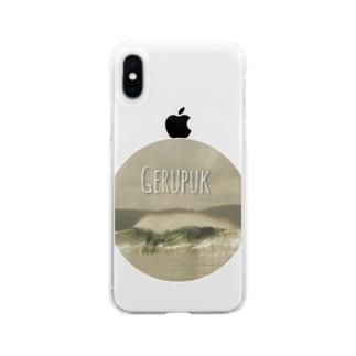 波GERUPUK Soft clear smartphone cases