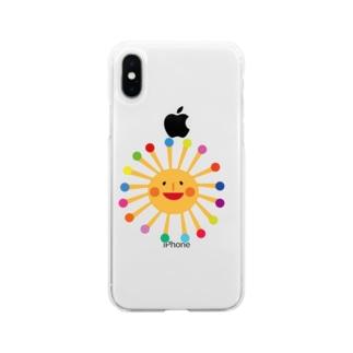たいようさん携帯ケース Soft clear smartphone cases
