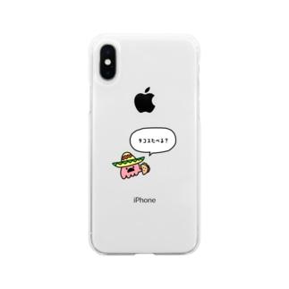 メキシカンタコさん Soft Clear Smartphone Case