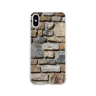 石壁 Soft clear smartphone cases