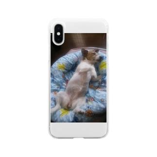 オネムな可愛いジャック Soft clear smartphone cases