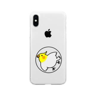 るちのーさん Soft Clear Smartphone Case