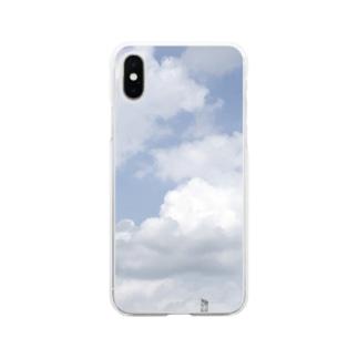 いつかの青空 Soft Clear Smartphone Case
