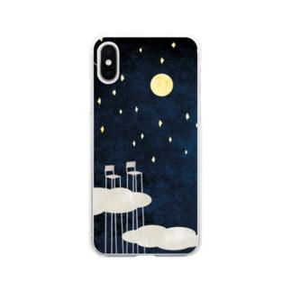 朝まで話をしよう。 Soft clear smartphone cases